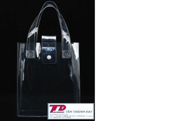 túi xách bằng chất liệu nhựa PVC dẻo
